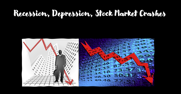 recessions and stock market crashes